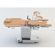 Electric examination and delivery obstetric bed